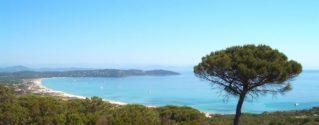 vue plage de Pampelonne