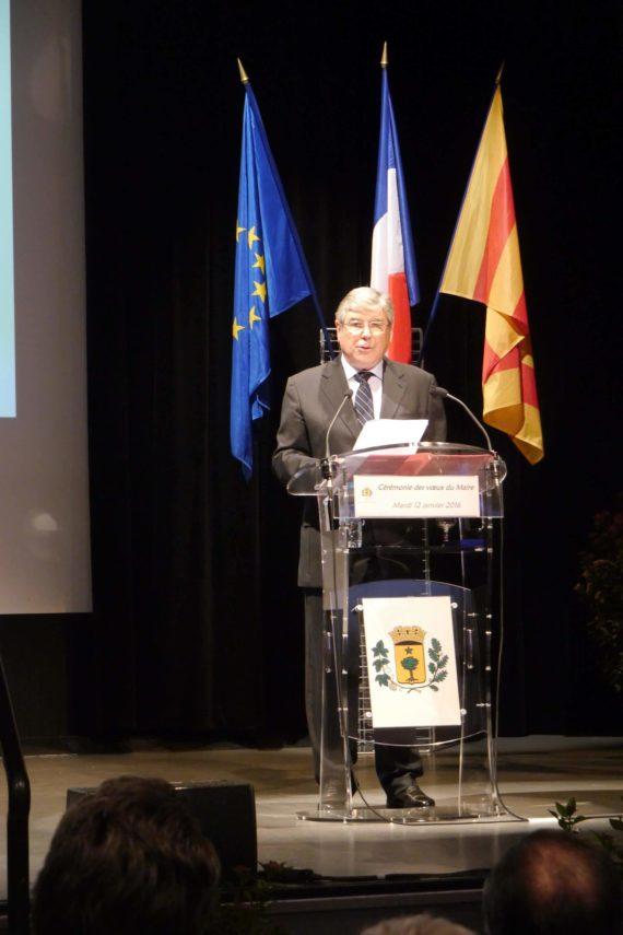Le maire, Roland Bruno.