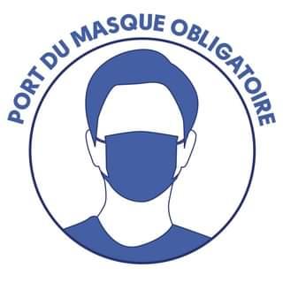 PORT DU MASQUE OBLIGATOIRE DANS L'ENSEMBLE DES LIEUX PUBLICS DE LA COMMUNE  JUSQU'AU 15 OCTOBRE 2020 - Commune de Ramatuelle